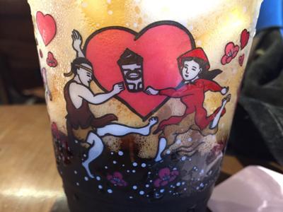 HIGHLANDS COFFEEのコップが可愛かった♪