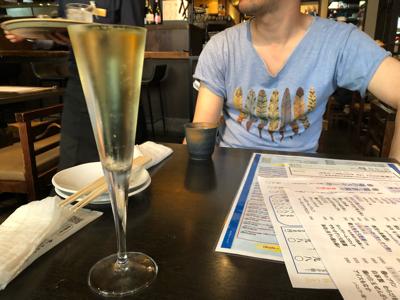 スパークリング&日本酒