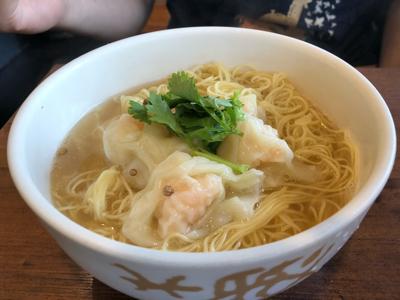えびわんたん麺(大盛り)