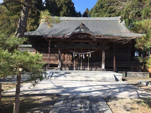 彌高神社 拝殿