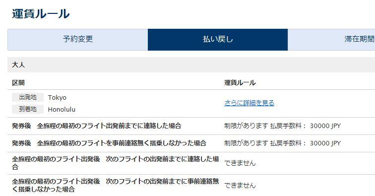 ANA・JAL海外航空券(国際線)キャンセルについて