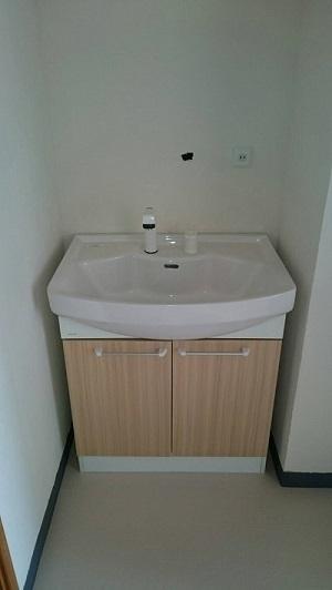 洗面所設置 (1)