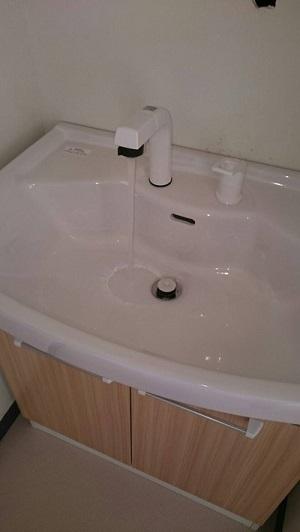 洗面所設置 (3)