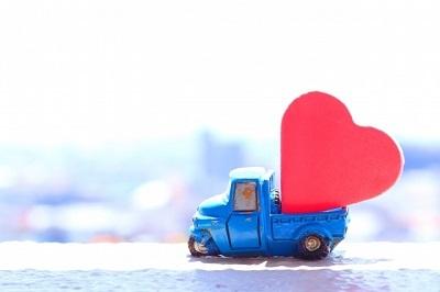 ハートとトラック