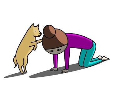 なのなのな 絶望と犬