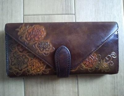 6年愛用の財布