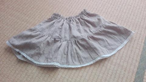 ぽこ33さんのリメイクスカート