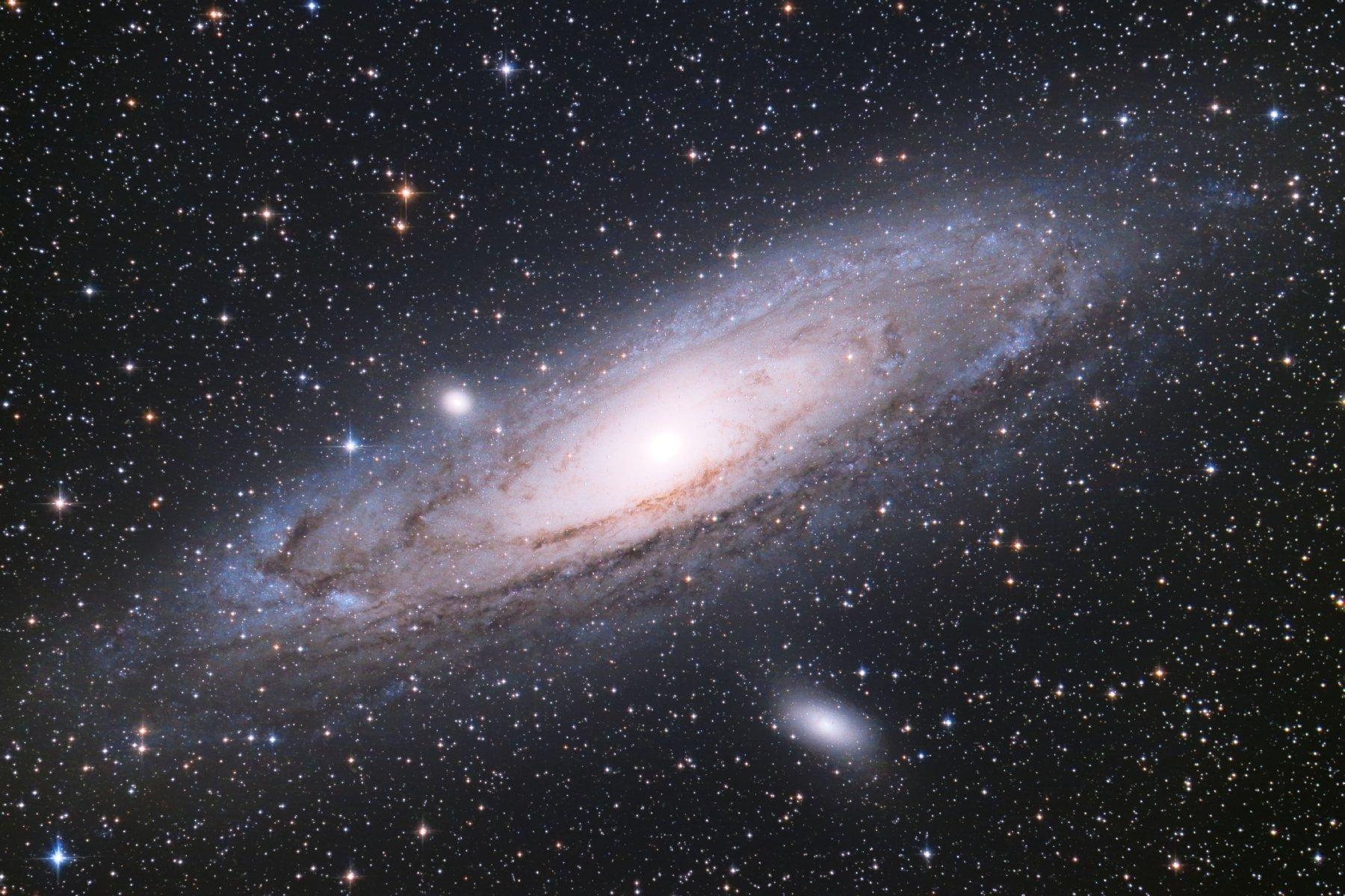 【星雲】M31 アンドロメダ銀河 (新システム1stライト)
