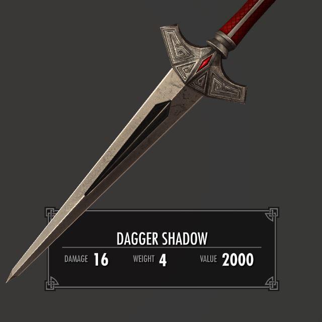 DaggerShadowSK 010-1 Info Dagger 1