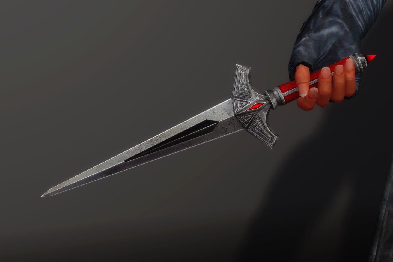 DaggerShadowSK 050-1 Pose Dagger 1