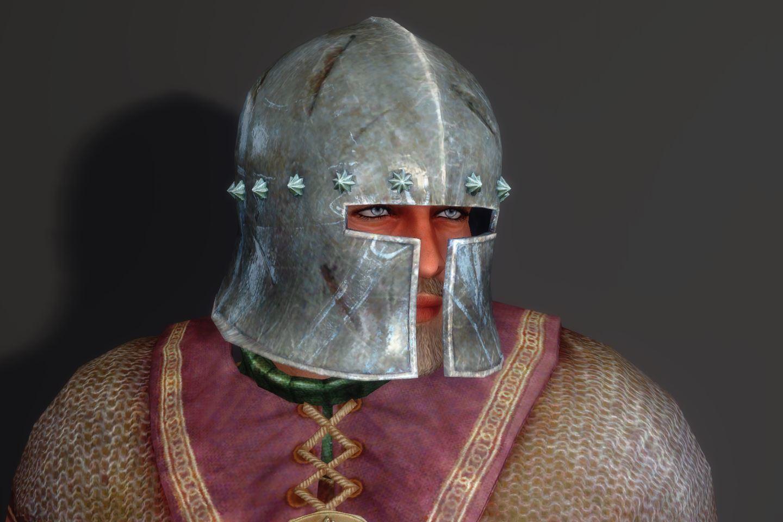 HedgeKnightArmorSK 122-1 Pose He-Fr-M Helmet 1