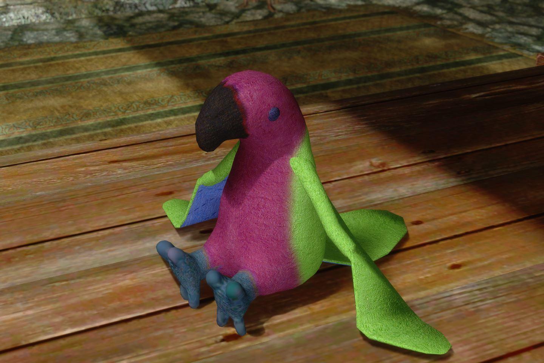 ChildrenToysMihailSK 210-1 Pose Parrot 01 1