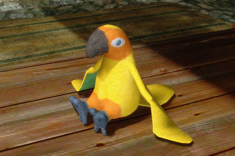 ChildrenToysMihailSK 211-1 Pose Parrot 02 1
