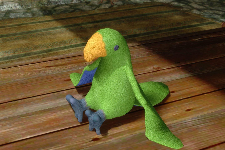 ChildrenToysMihailSK 214-1 Pose Parrot 05 1