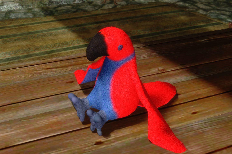 ChildrenToysMihailSK 217-1 Pose Parrot 08 1