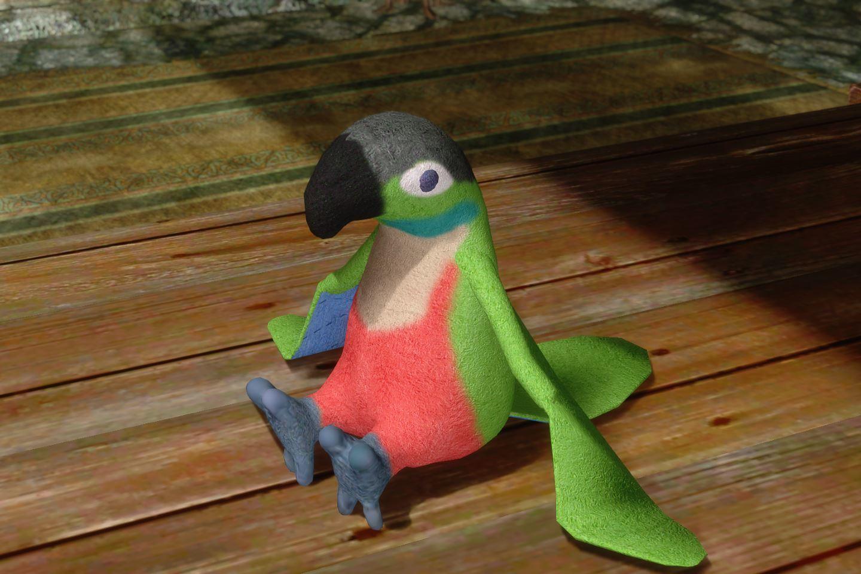 ChildrenToysMihailSK 224-1 Pose Parrot 15 1