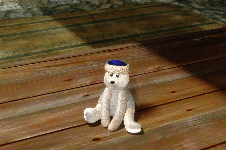 ChildrenToysMihailSK 310-1 Pose TeddyBear 01 1