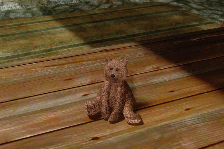 ChildrenToysMihailSK 311-1 Pose TeddyBear 02 1