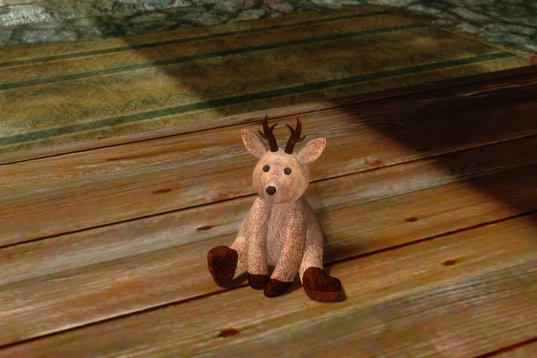 ChildrenToysMihailSK 412-1 Pose TeddyDeer 03 1