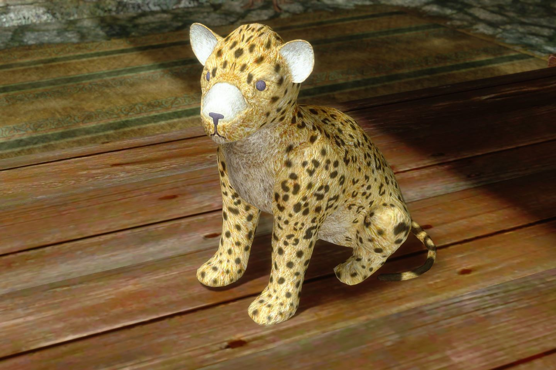 ChildrenToysMihailSK 513-1 Pose Cheetah 1