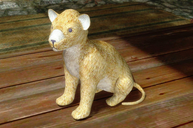 ChildrenToysMihailSK 515-1 Pose Lion 1