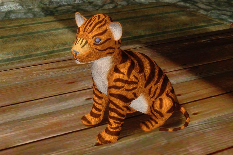 ChildrenToysMihailSK 519-1 Pose Tiger 1