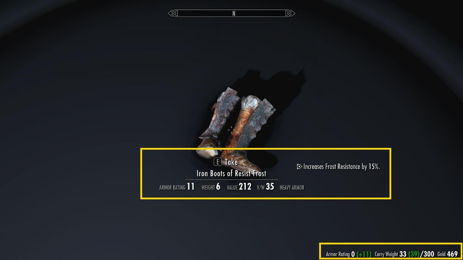 MoreHUDSSE 132-1 Info Armor 1