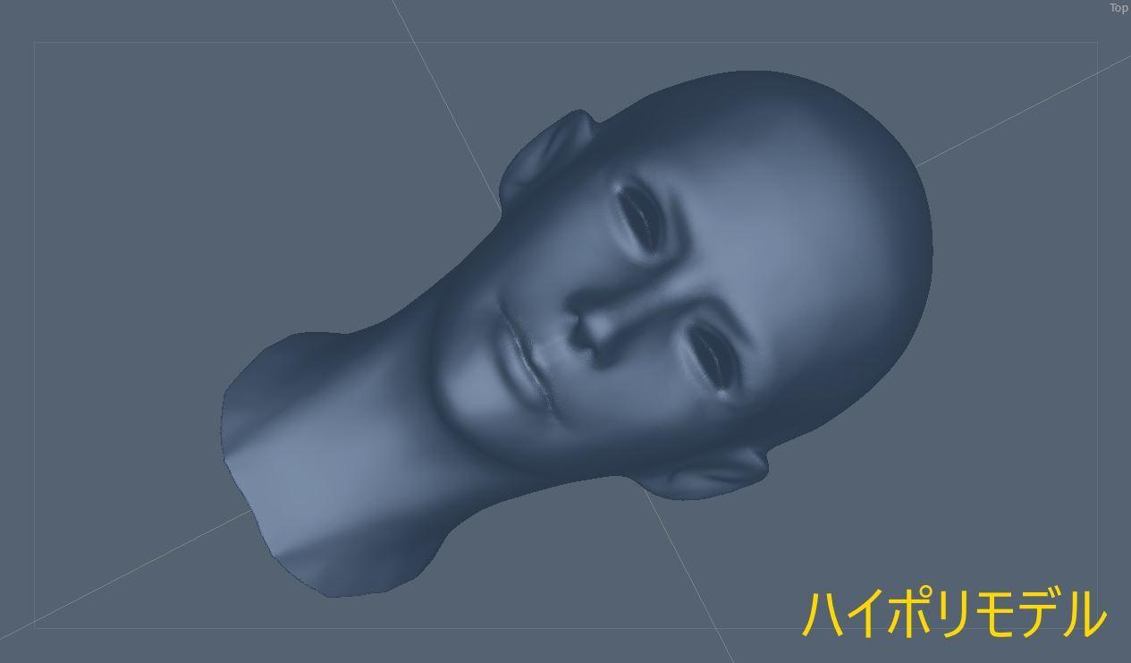 FemaleFaceNM201808SK 020-1 Info 3DCoat 1