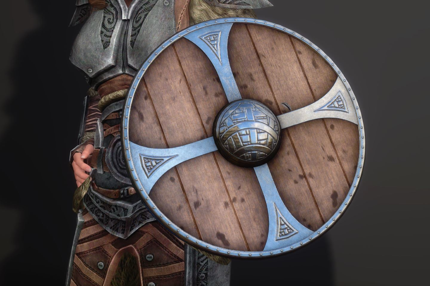 DovahNordWeaponsSK 060-1 Pose Shield 1