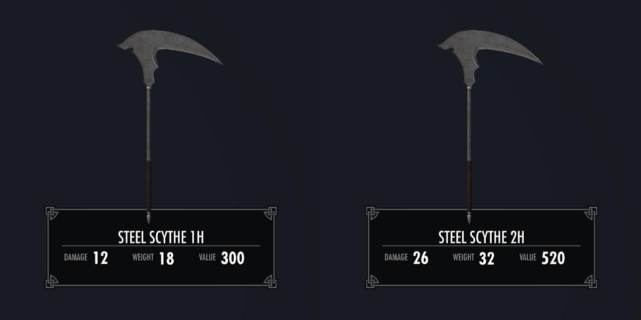 KukatsuoSteelScytheSK 031-1 Info 2HA Steel 2