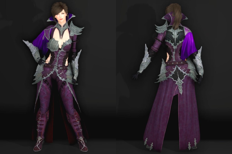 AnotherVampireLASSE 151-1 Pose Fu-Ba-F Purple 2