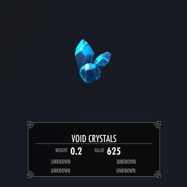 VoidWeaponSK 031-1 Info VoidCrystal 2