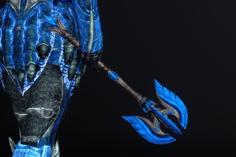 BluenightGlassArmorSK 220-1 Pose 1HM 1
