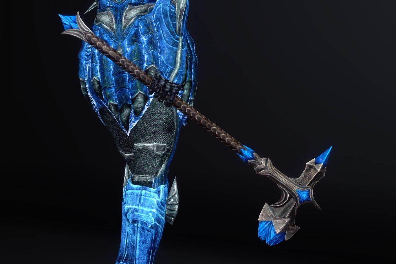 BluenightGlassArmorSK 221-1 Pose 2HM 1