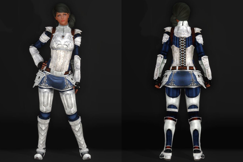 EisenplatteArmorSSE 131-1 Pose Fu-Ba-F Skirt Blue 2