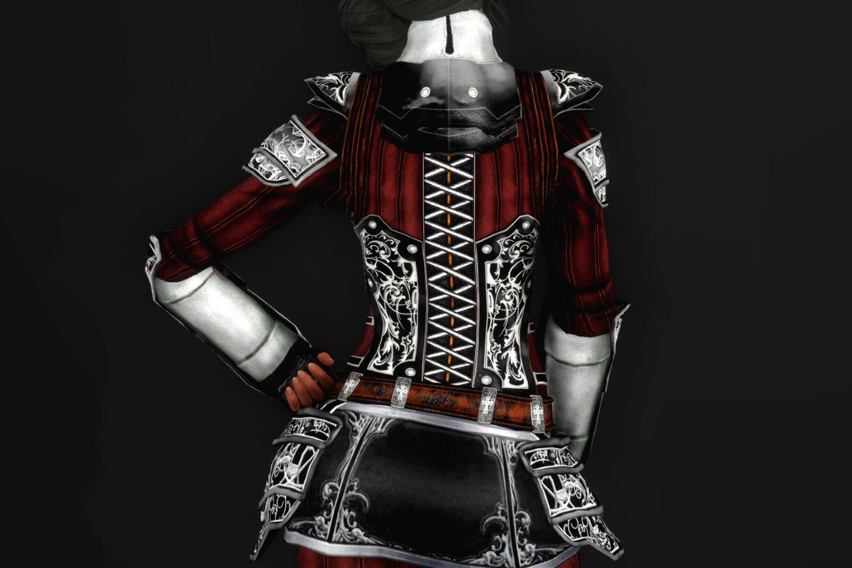 EisenplatteArmorSSE 233-1 Pose Up-Ba-F Skirt Black 1