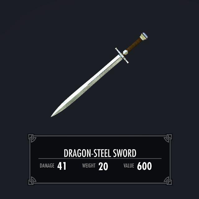 DragonSteelSwordSK 010-1 Info 1HS 2