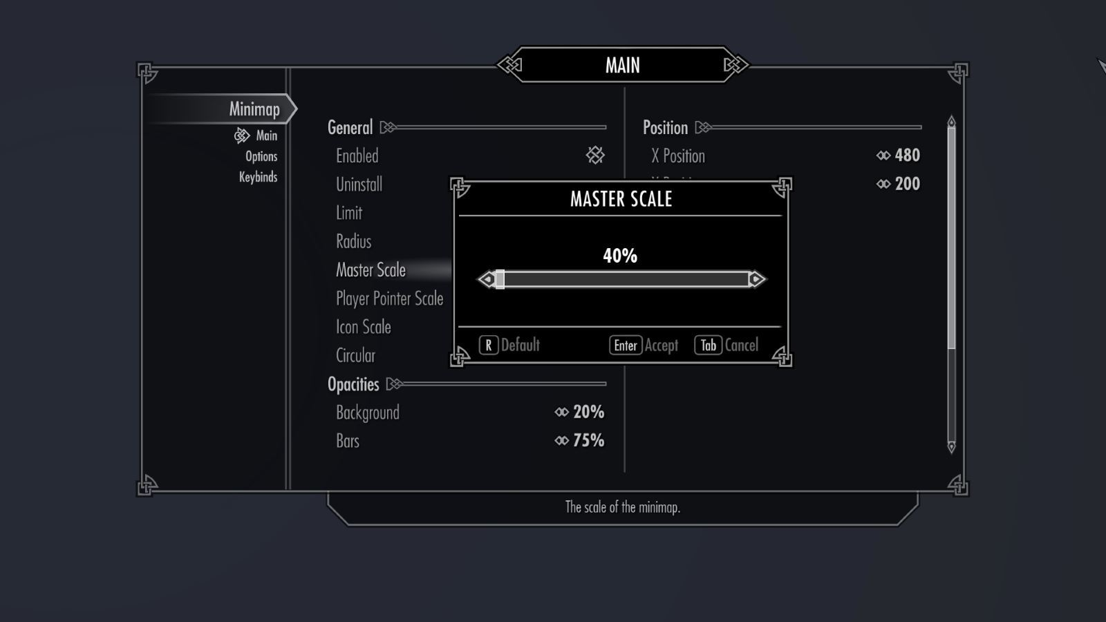 SkyrimMinimapSK 131-1 Info MasterScale 1