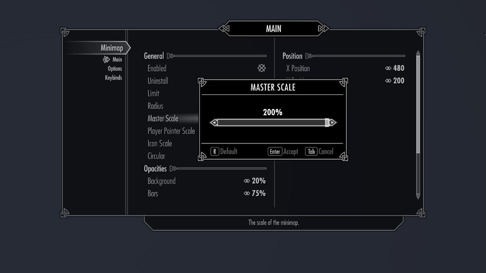 SkyrimMinimapSK 133-1 Info MasterScale 1