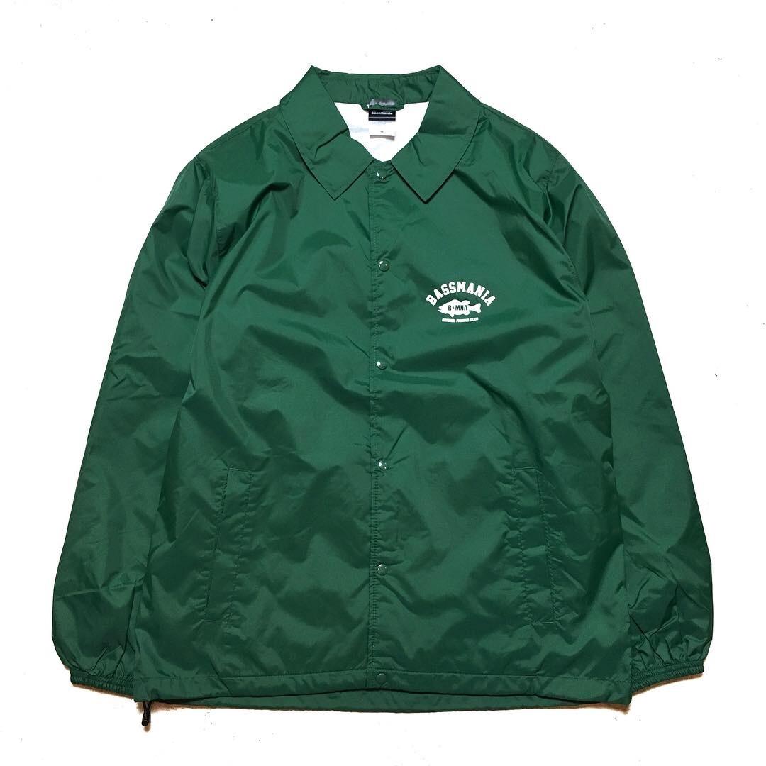 bassmania arch logo coach jacket14