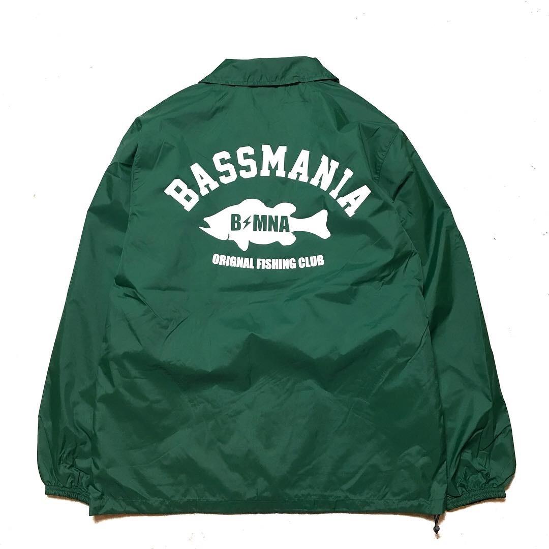 bassmania arch logo coach jacket16