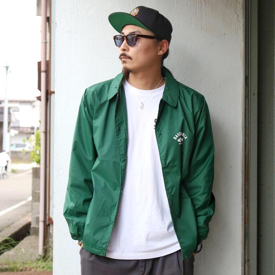 bassmania arch logo coach jacket17