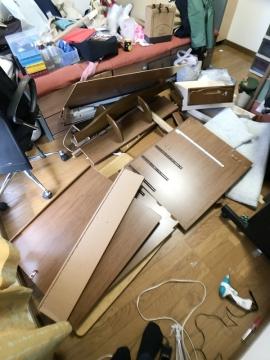 学習机の解体ビフォーアフター