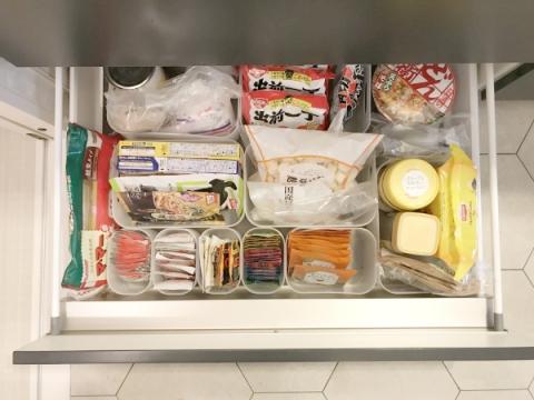 百均収納で乾物の整理 (5)