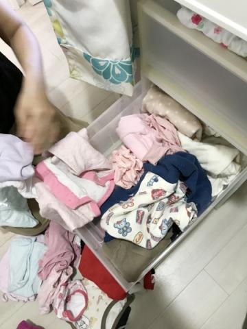 洗面所にパジャマと下着を収納する場合 (4)