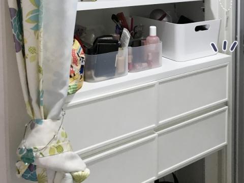 洗面所にパジャマと下着を収納する場合 (10)