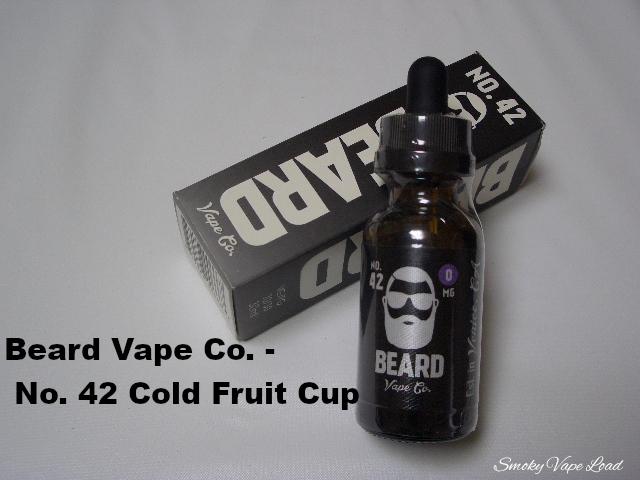 1 Beard Vape Co - No 42 Cold Fruit Cup