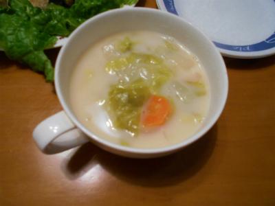 4.15春キャベツのスープ
