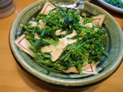 4.18のらぼう菜の煮浸し