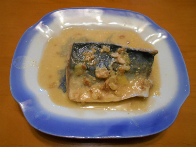 4.18鯖の味噌煮